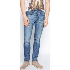 G-Star Raw - Jeansy 3301 Slim. Czarne jeansy męskie slim marki G-Star RAW, l, z materiału, retro. W wyprzedaży za 119,90 zł.