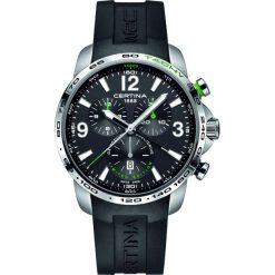 PROMOCJA ZEGAREK CERTINA DS Podium Big Chrono WRC Poland C001.647.1. Czarne zegarki męskie CERTINA, ze stali. W wyprzedaży za 2895,20 zł.
