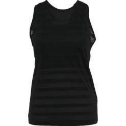 Black Diamond CAMPUS TANK Koszulka sportowa slate. Szare topy sportowe damskie marki Black Diamond, l, z elastanu. Za 249,00 zł.