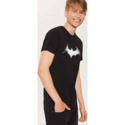 T-shirt Batman - Czarny. Czarne t-shirty męskie marki House, l, z motywem z bajki. Za 49,99 zł.