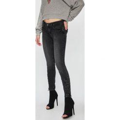 Liu Jo - Jeansy. Szare jeansy damskie rurki Liu Jo, z bawełny. Za 749,90 zł.