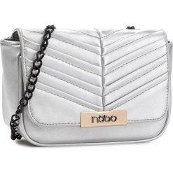 Torebka NOBO - NBAG-C4340-C022 Srebrny. Szare torebki klasyczne damskie marki Nobo, ze skóry ekologicznej. W wyprzedaży za 119,00 zł.