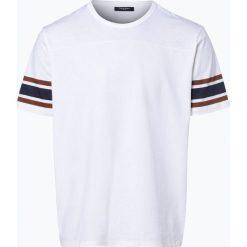 Calvin Klein - T-shirt męski, czarny. Pomarańczowe t-shirty męskie marki Calvin Klein, l, z bawełny, z okrągłym kołnierzem. Za 299,95 zł.