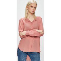Vila - Koszula. Różowe koszule damskie marki Vila, m, z poliesteru, casualowe, z długim rękawem. Za 149,90 zł.