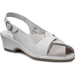 Rzymianki damskie: Sandały COMFORTABEL – 710706 Beige 8