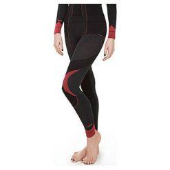 Spodnie sportowe damskie: GATTA Spodnie damskie Thermo Julita Black Grey-Red r. L