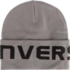Czapka CONVERSE - 561448 Grey. Szare czapki zimowe damskie marki Converse, z materiału. Za 89,00 zł.