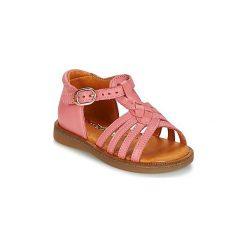 Sandały Dziecko  Babybotte  TOURBILLON. Czerwone sandały dziewczęce marki Babybotte. Za 230,30 zł.