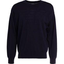 Swetry klasyczne męskie: Emporio Armani Sweter blue