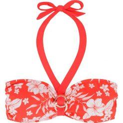 """Biustonosz bikini """"Fiji"""" w kolorze koralowym. Szare biustonosze marki Esprit. W wyprzedaży za 34,95 zł."""