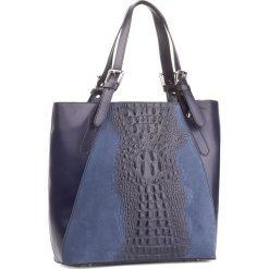 Torebka CREOLE - K10440  Granatowy. Niebieskie torebki klasyczne damskie Creole, ze skóry. W wyprzedaży za 249,00 zł.
