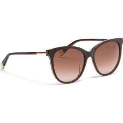 Okulary przeciwsłoneczne FURLA - Artic 995315 D 232F REM Havana 003. Brązowe okulary przeciwsłoneczne damskie Furla. Za 760,00 zł.