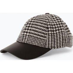 Opus - Damska czapka z daszkiem – Akika, czarny. Czarne czapki z daszkiem damskie Opus, ze skóry. Za 119,95 zł.