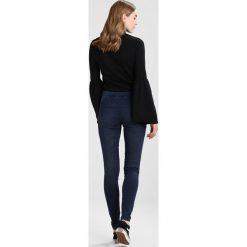 Legginsy: Vero Moda Tall VMSEVENA  Jegginsy dark blue denim