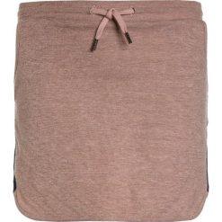 Scotch R'Belle SOFT GLITTER SKIRT WITH SPORTY TAPES Spódnica mini sunglow. Czerwone spódniczki dziewczęce Scotch R'Belle, z bawełny, mini. Za 209,00 zł.