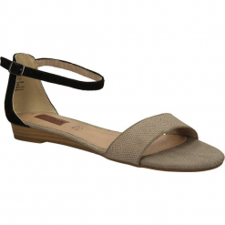SANDAŁY S.OLIVER 5-28109-24. Szare sandały damskie marki S.Oliver, z gumy. Za 99,99 zł.