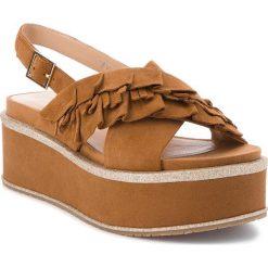 Sandały damskie: Sandały BRUNO PREMI – Comoscio + Itter R4605X  Cuoio/Platino