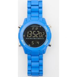 Zegarki męskie: Zegarek z regulowanym paskiem – Niebieski