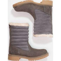 Darkwood Botki grey. Szare buty zimowe damskie Darkwood, z materiału. W wyprzedaży za 209,50 zł.