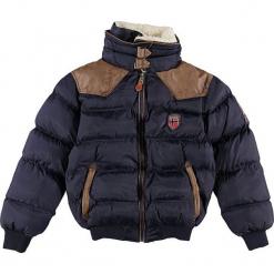 """Kurtka zimowa """"Abramovitch"""" w kolorze granatowym. Niebieskie kurtki chłopięce zimowe Geographical Norway Kids & Women, ze skóry. W wyprzedaży za 250,95 zł."""