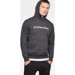 G-Star Raw - Bluza. Szare bluzy męskie rozpinane marki TARMAK, m, z bawełny, z kapturem. Za 419,90 zł.