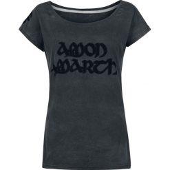 Amon Amarth EMP Signature Collection Koszulka damska ciemnoszary. Szare bluzki z odkrytymi ramionami Amon Amarth, s, z nadrukiem, z dekoltem w łódkę. Za 99,90 zł.