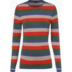 Franco Callegari - Sweter damski z dodatkiem kaszmiru, niebieski. Zielone swetry klasyczne damskie marki Franco Callegari, z napisami. Za 229,95 zł.