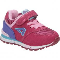 Różowe buty sportowe na rzep American K15110G-1. Czerwone buciki niemowlęce American. Za 69,99 zł.