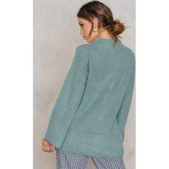 Swetry damskie: NA-KD Puszysty sweter – Green