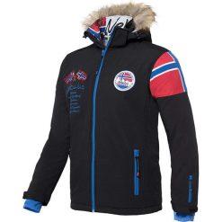 """Kurtka narciarska """"Alpin"""" w kolorze czarnym. Czarne kurtki sportowe męskie Nebulus, m, narciarskie. W wyprzedaży za 431,95 zł."""
