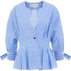 By Malene Birger Bluzka alaskan blue. Niebieskie bralety By Malene Birger, z bawełny. Za 1029,00 zł.