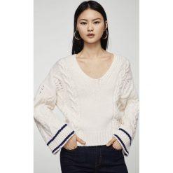 Mango - Sweter Deport. Szare swetry klasyczne damskie marki Mango, l, z dzianiny. W wyprzedaży za 79,90 zł.