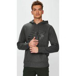 New Balance - Bluza. Bluzy męskie rozpinane New Balance, l, z nadrukiem, z bawełny, z kapturem. Za 229,90 zł.