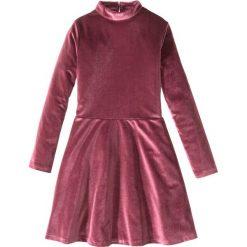 Sukienki dziewczęce: Sukienka aksamitna bonprix czerwony klonowy