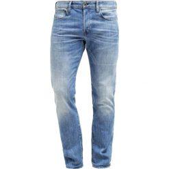 GStar 3301 LOW TAPERED Jeansy Zwężane aiden stretch denim. Niebieskie jeansy męskie marki G-Star. W wyprzedaży za 439,20 zł.