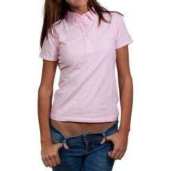 T-shirty damskie: Koszulka polo w kolorze jasnoróżowym
