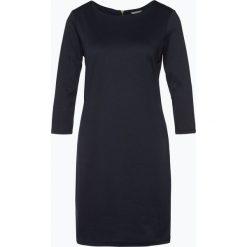 Vila - Sukienka damska, niebieski. Niebieskie sukienki z falbanami marki Vila, l, w paski, z dżerseju. Za 119,95 zł.