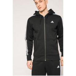 Adidas Performance - Bluza. Szare bejsbolówki męskie adidas Performance, l, z bawełny, z kapturem. W wyprzedaży za 239,90 zł.