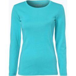 Brookshire - Damska koszulka z długim rękawem, zielony. Czarne t-shirty damskie marki brookshire, m, w paski, z dżerseju. Za 49,95 zł.