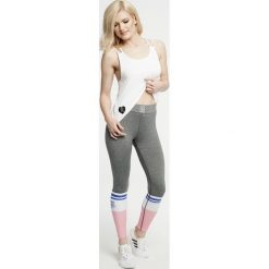 Legginsy we wzory: Gym Hero - Legginsy Grey Socks
