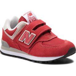 Trampki chłopięce: Sneakersy NEW BALANCE – YV574RD Czerwony