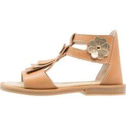 Friboo Sandały brown. Czerwone sandały chłopięce marki Friboo, z materiału. Za 169,00 zł.