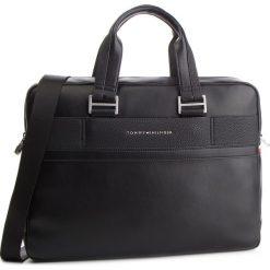 Torba na laptopa TOMMY HILFIGER - Th Business Computer Bag AM0AM04259  002. Niebieskie torby na laptopa marki TOMMY HILFIGER, ze skóry ekologicznej. Za 699,00 zł.