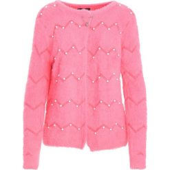 Swetry damskie: Różowy Kardigan Warm Hugs