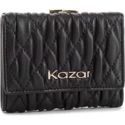 Duży Portfel Damski KAZAR - 34483-01-00 Black. Czarne portfele damskie Kazar, ze skóry. Za 299,00 zł.