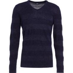 JOOP! LADEK Sweter navy. Niebieskie kardigany męskie marki JOOP!, m, z bawełny. W wyprzedaży za 374,50 zł.
