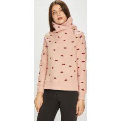 Only - Bluza. Szare bluzy damskie marki ONLY, s, z bawełny, casualowe, z okrągłym kołnierzem. Za 149,90 zł.