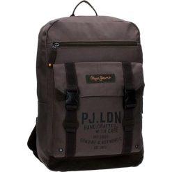 Plecak w kolorze brązowym na laptopa - (S)32 x (W)44 x (G)16 cm. Brązowe torby na laptopa marki Pepe Jeans, z materiału. W wyprzedaży za 139,95 zł.