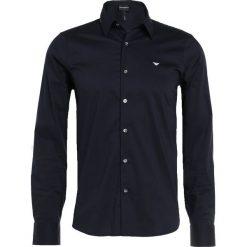 Koszule męskie na spinki: Emporio Armani Koszula biznesowa blu navy