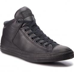 Trampki CONVERSE - Ctas High Street Hi 161473C Black/Black/Black. Czarne tenisówki męskie Converse, z gumy. W wyprzedaży za 279,00 zł.